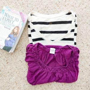 2 Maternity Shirts